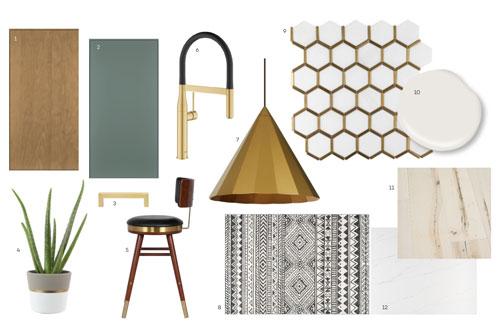 Contemporary Style Board - Light Theme