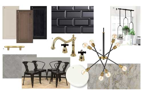 Transitional Style Board - Dark Theme