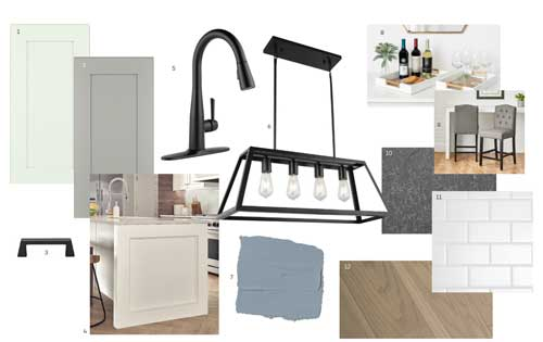 Transitional Style Board - Light Theme
